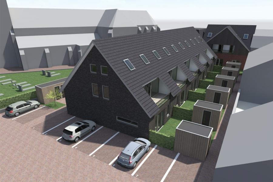 Appartementen en starterswoningen