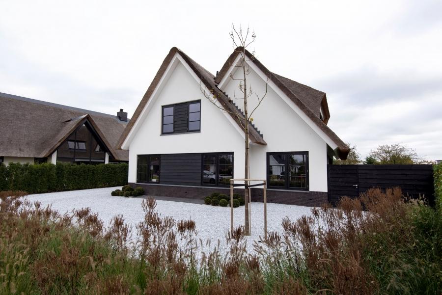 Rietgedekte woning Oud-Beijerland