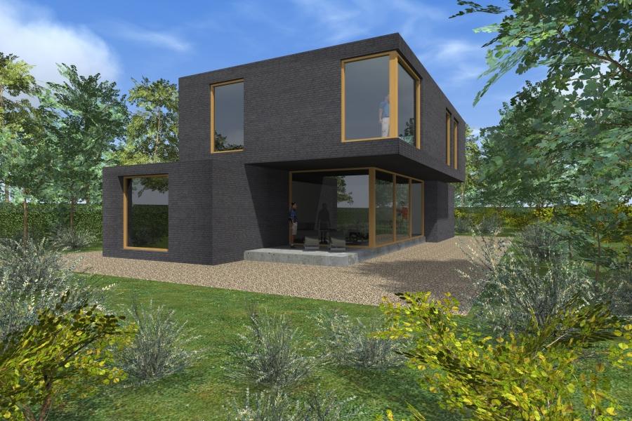 Studie moderne woningen