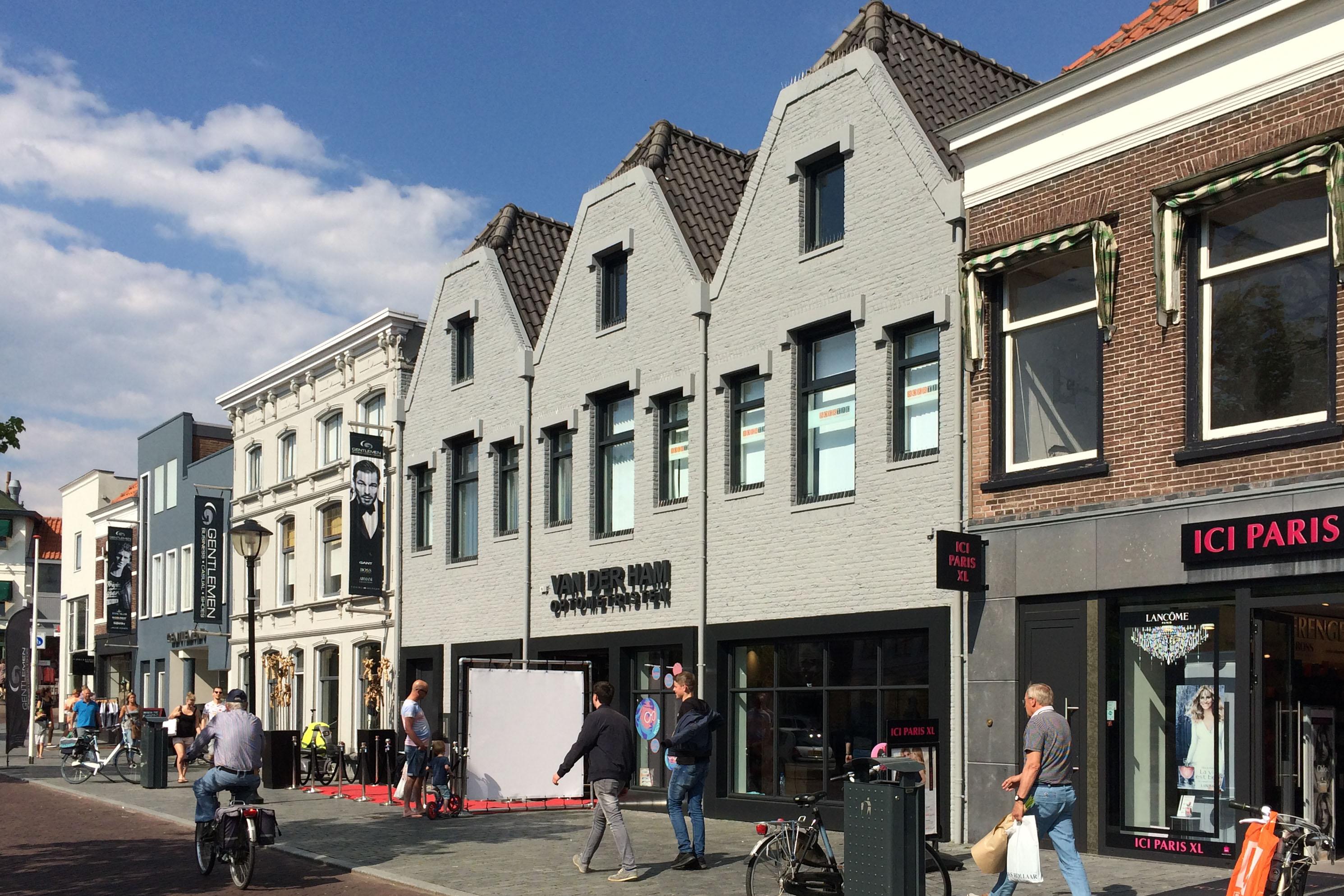 Verbouwing winkel Oud-Beijerland